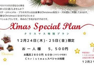 【1日10組限定】クリスマスにカップルや家族とゆったり過ごせる特別イベント